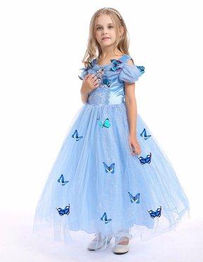 Unieke vlinder Assepoester prinsessen jurk