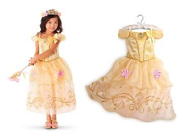 Belle prinsessen jurk